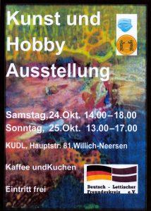 Ausstellung Kunst und Hobby @ KUDL Neersen